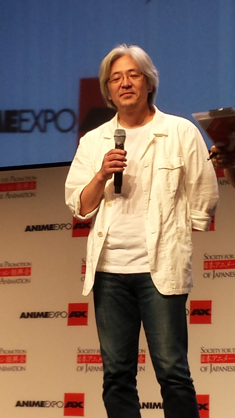 AnimeExpo 2013 - Kazuchika Kise at closing ceremonies