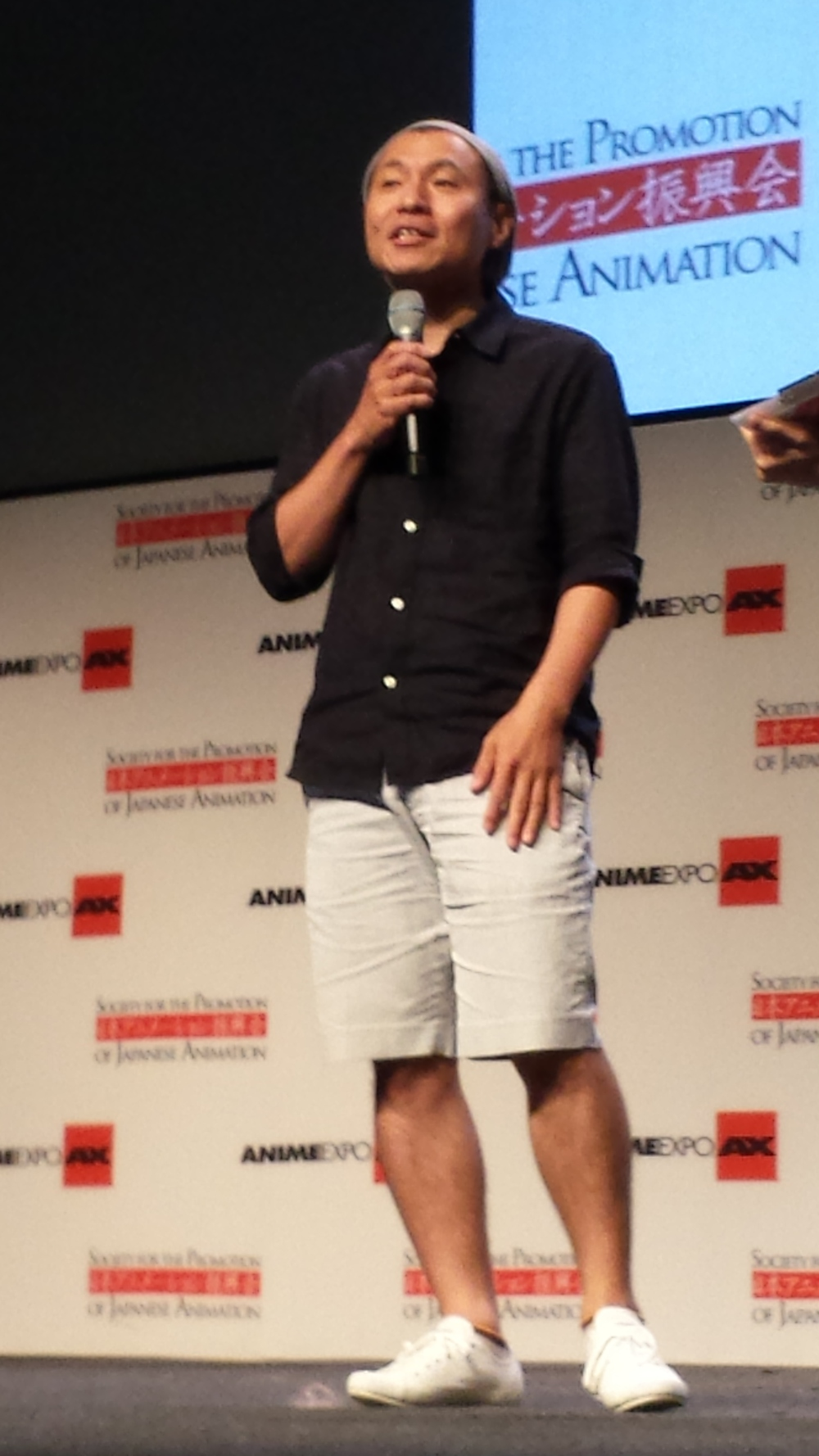 AnimeExpo 2013 - Masaaki Yuasa at the closing ceremonies