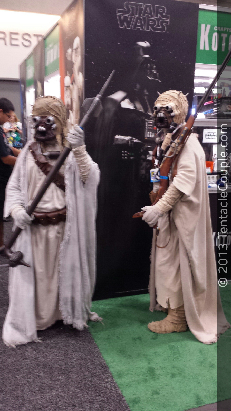 San Diego Comic-Con 2013 - Sand people don't always cover their tracks