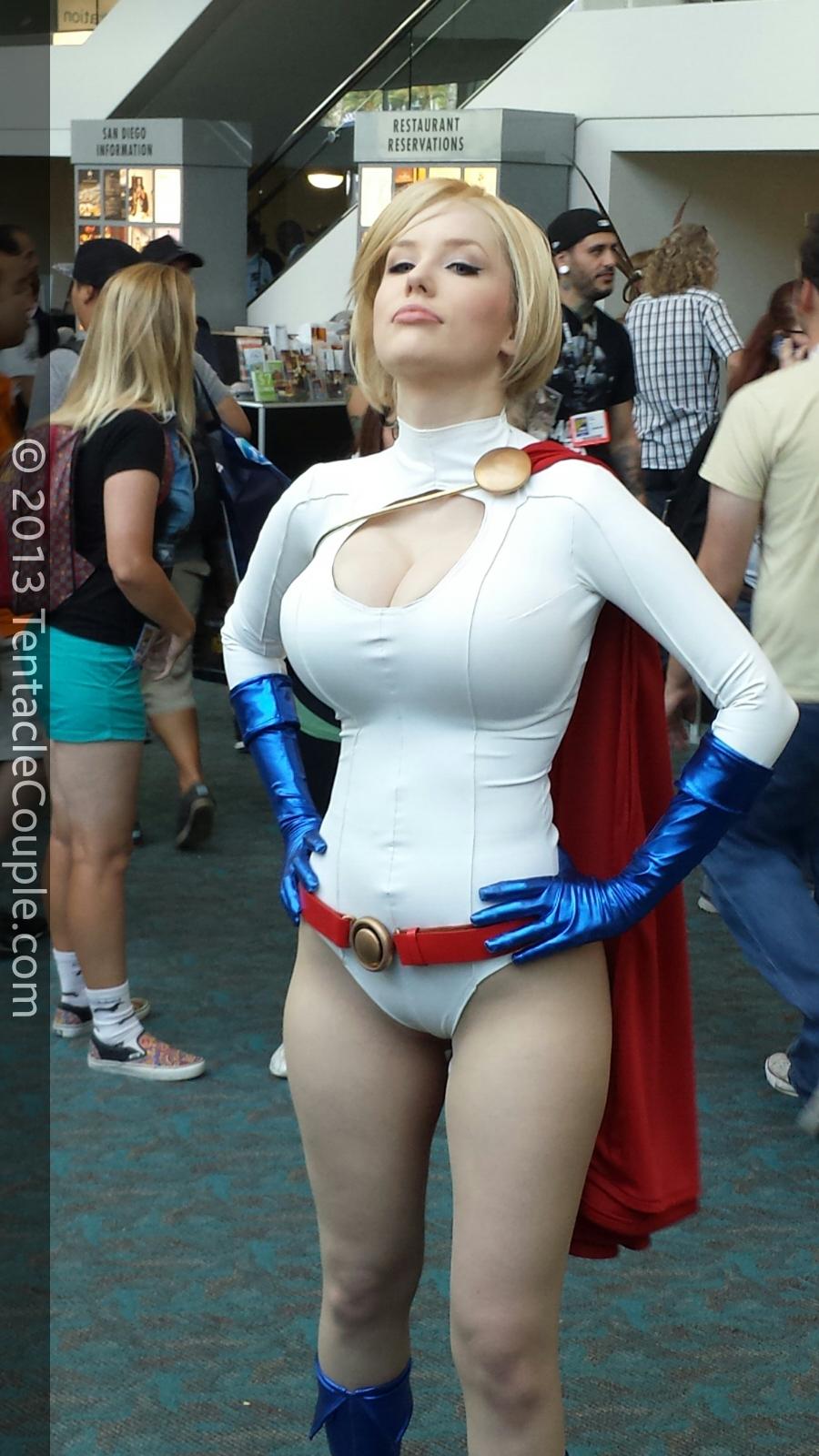 San Diego Comic-Con 2013 - Power Girl