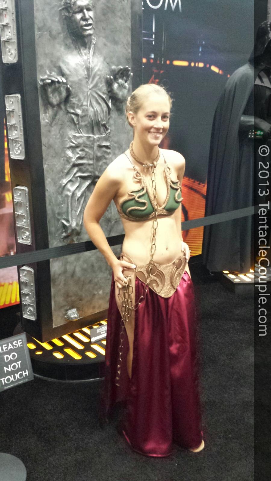 San Diego Comic-Con 2013 - Princess Leia