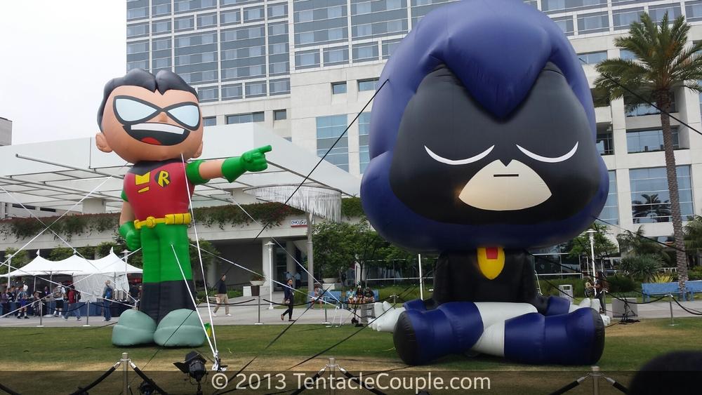 San Diego Comic-Con 2013 - Teen Titans