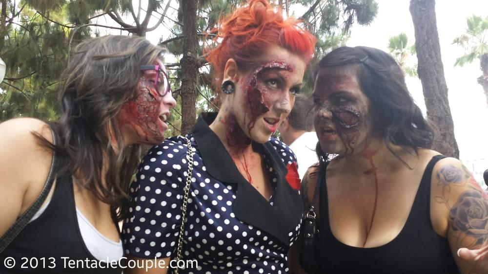 San Diego Comic-Con 2013 - Zombie Trio
