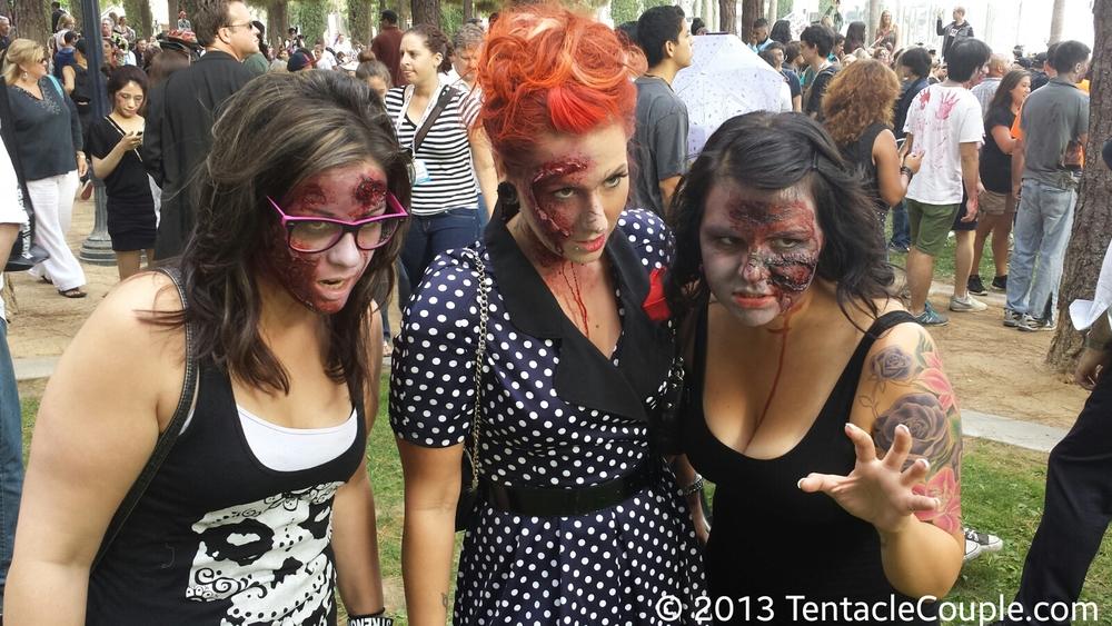 San Diego Comic-Con 2013 - Zombie Trio 2