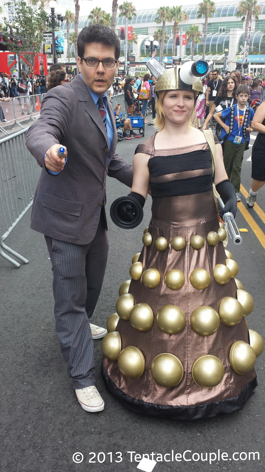 San Diego Comic-Con 2013 - Dr Who and Dalek