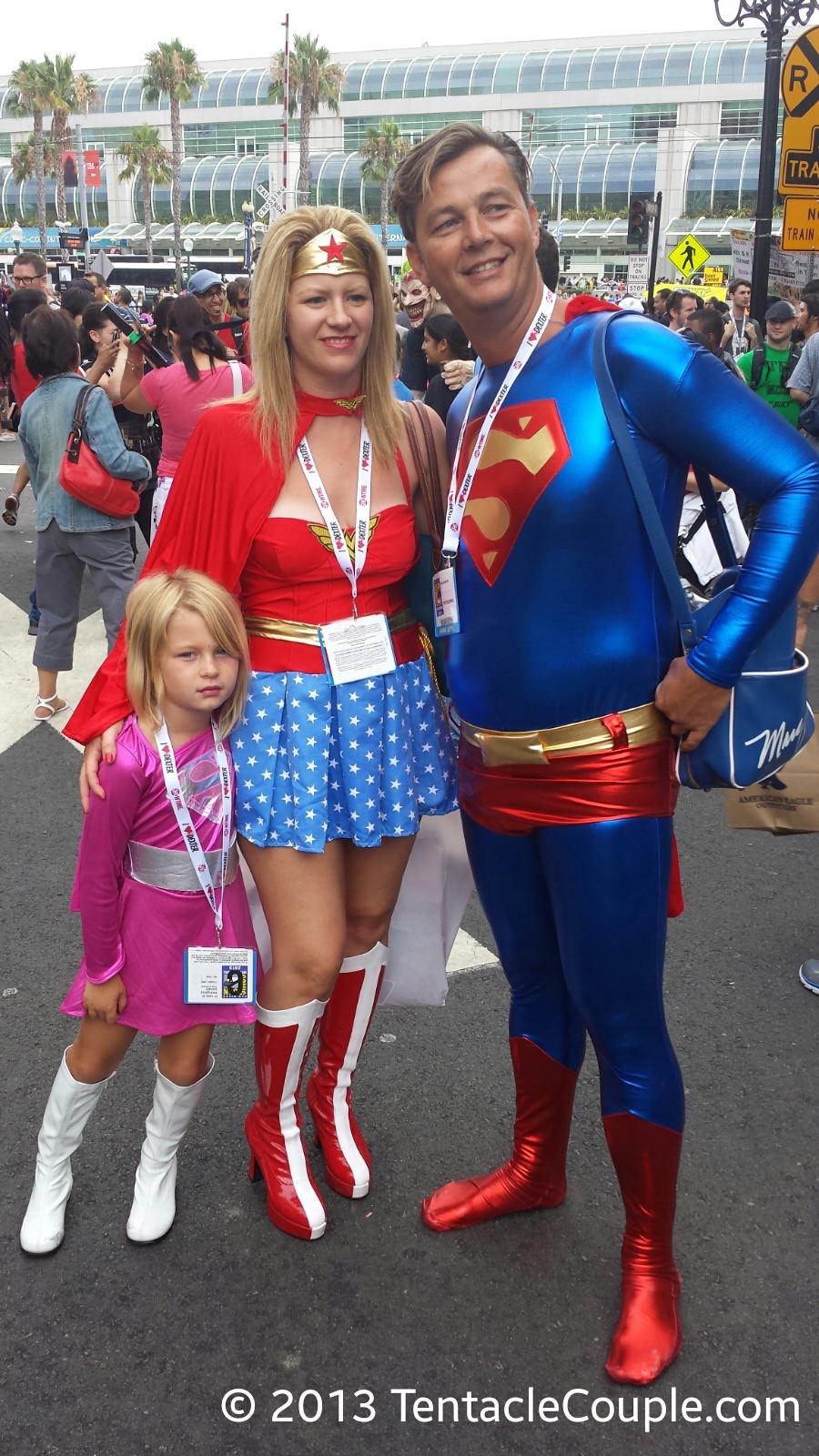 San Diego Comic-Con 2013 - Super Family