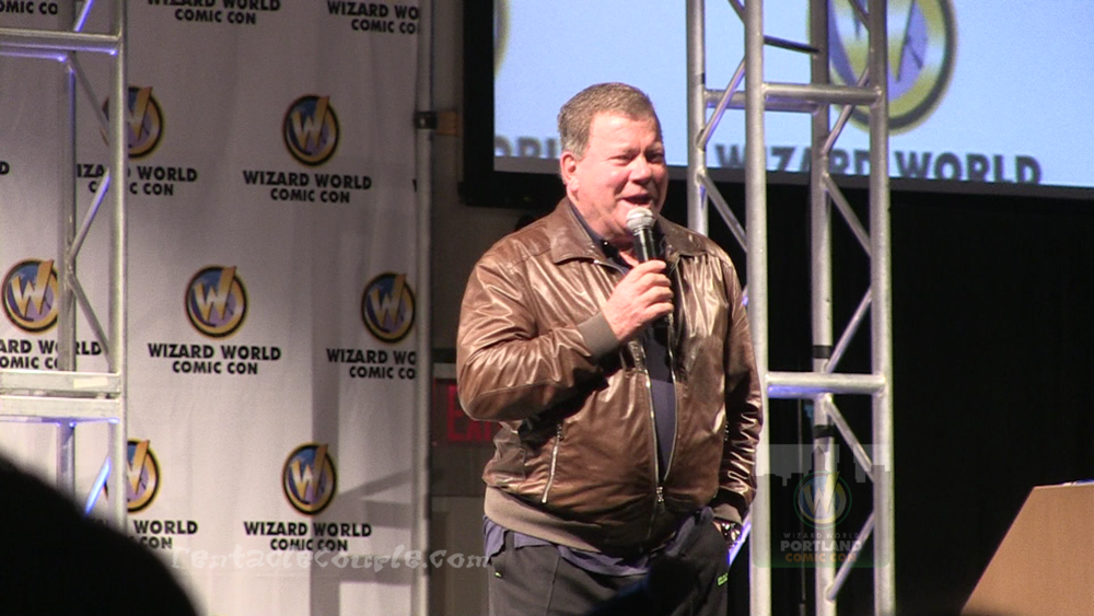 William Shatner Panel