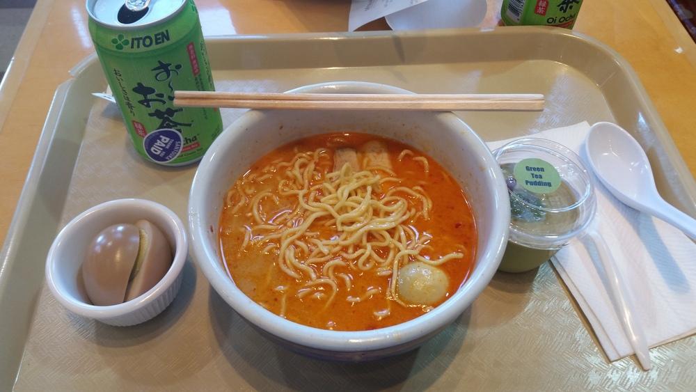 Last decent lunch at #mitsuwa before Comic Con
