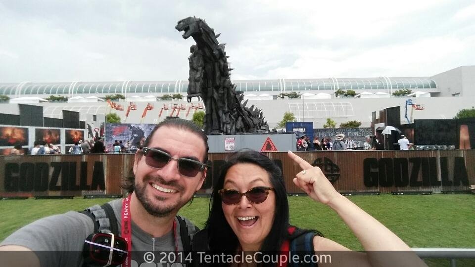 Godzilla is Here