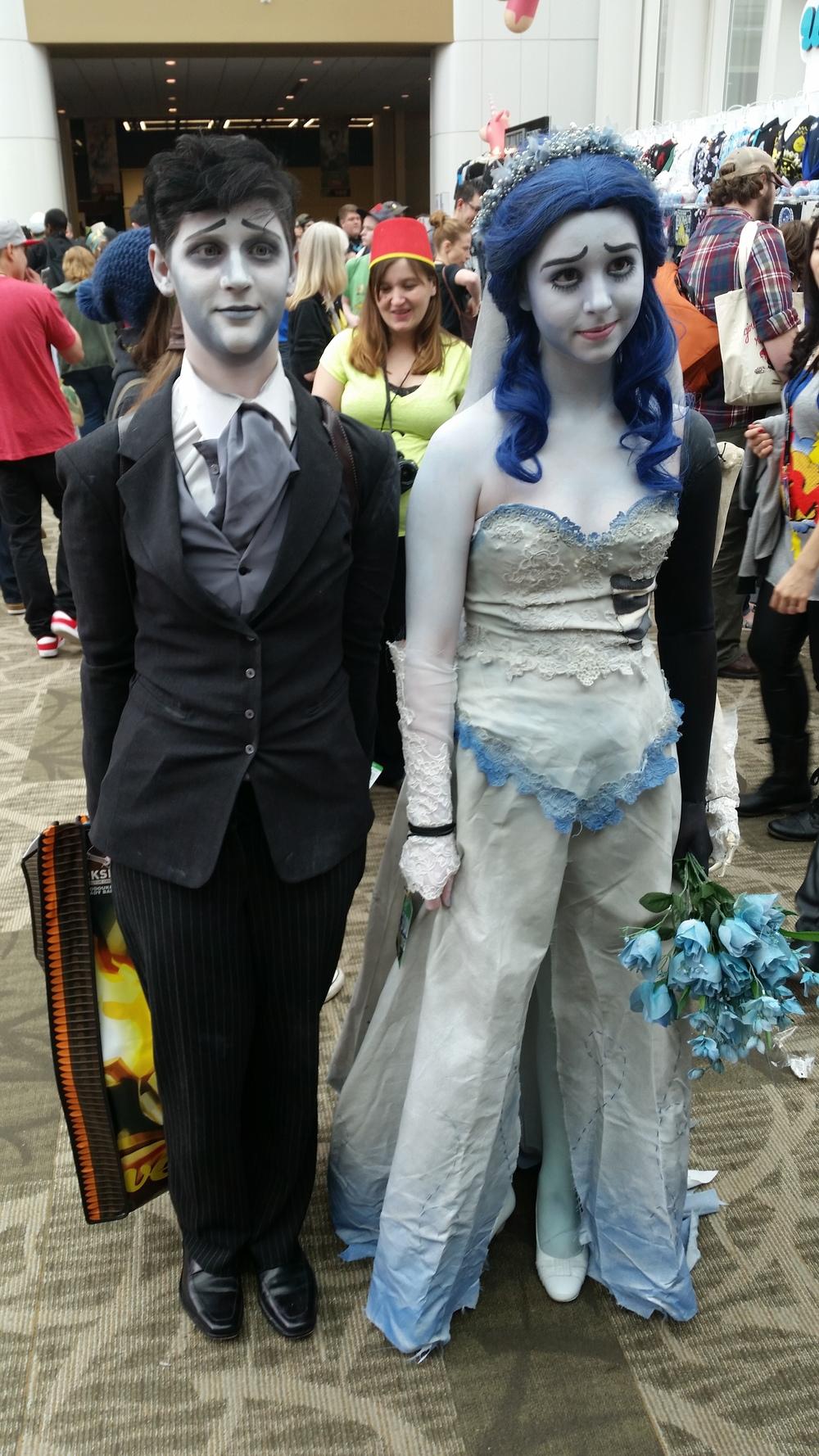 True love always find a way #ECCC #corpsebride #cosplay