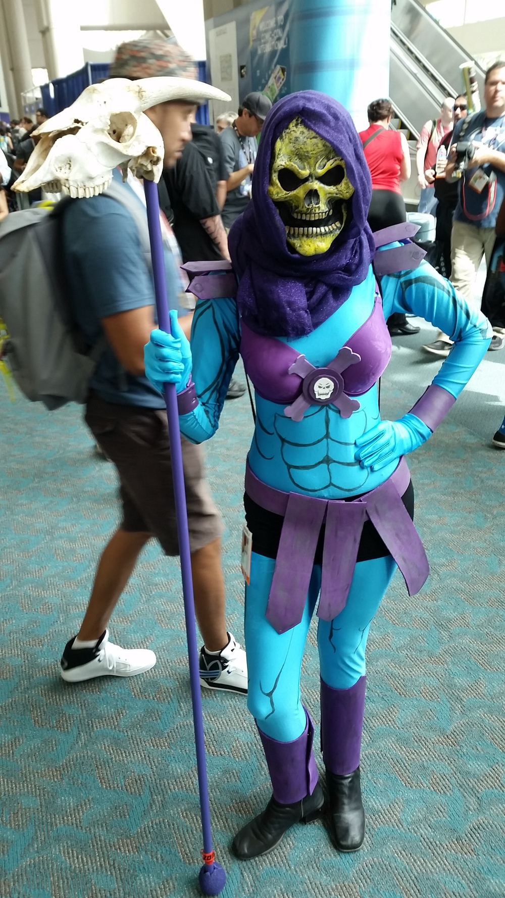 Female Skeletor