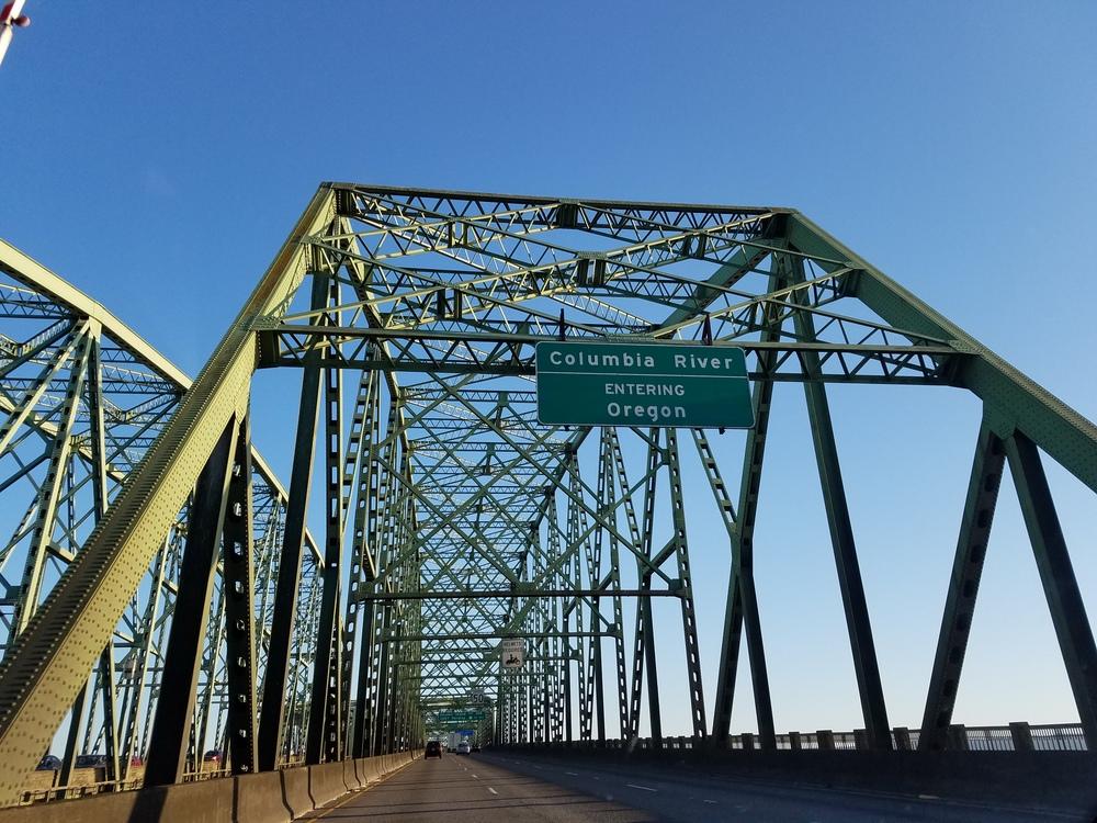 Good bye Washington, Hello Oregon