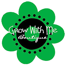 So happy to be partnering with Grow With Me Boutique - stop in!