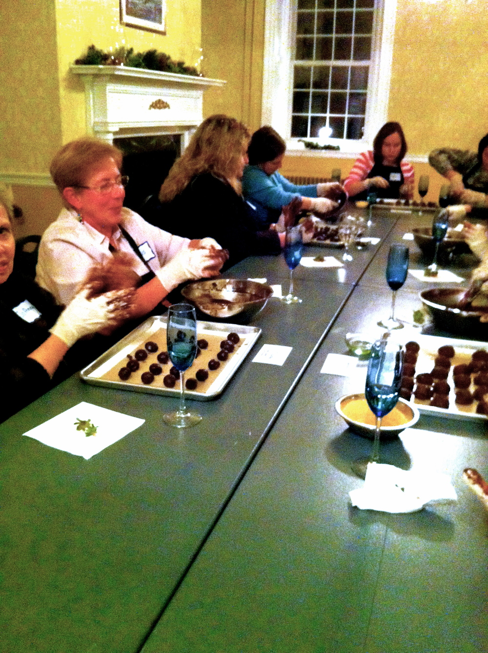 truffles making & champagne sipping culinary adventures!
