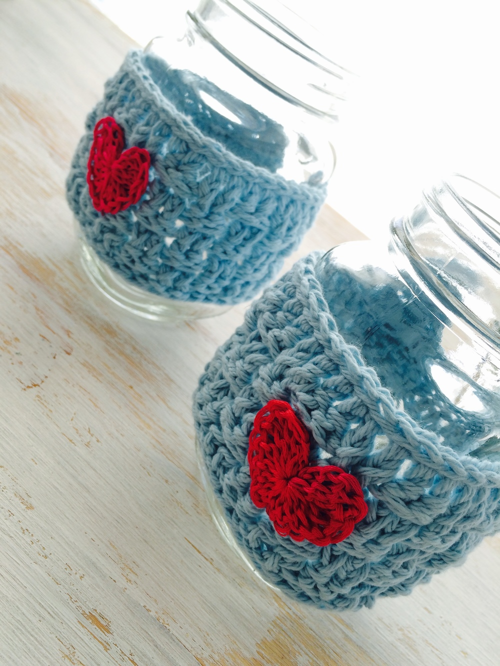 Mug cozy from 3 Fire Stones Crafts