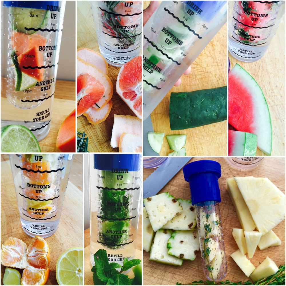 HK's infusion water recipes
