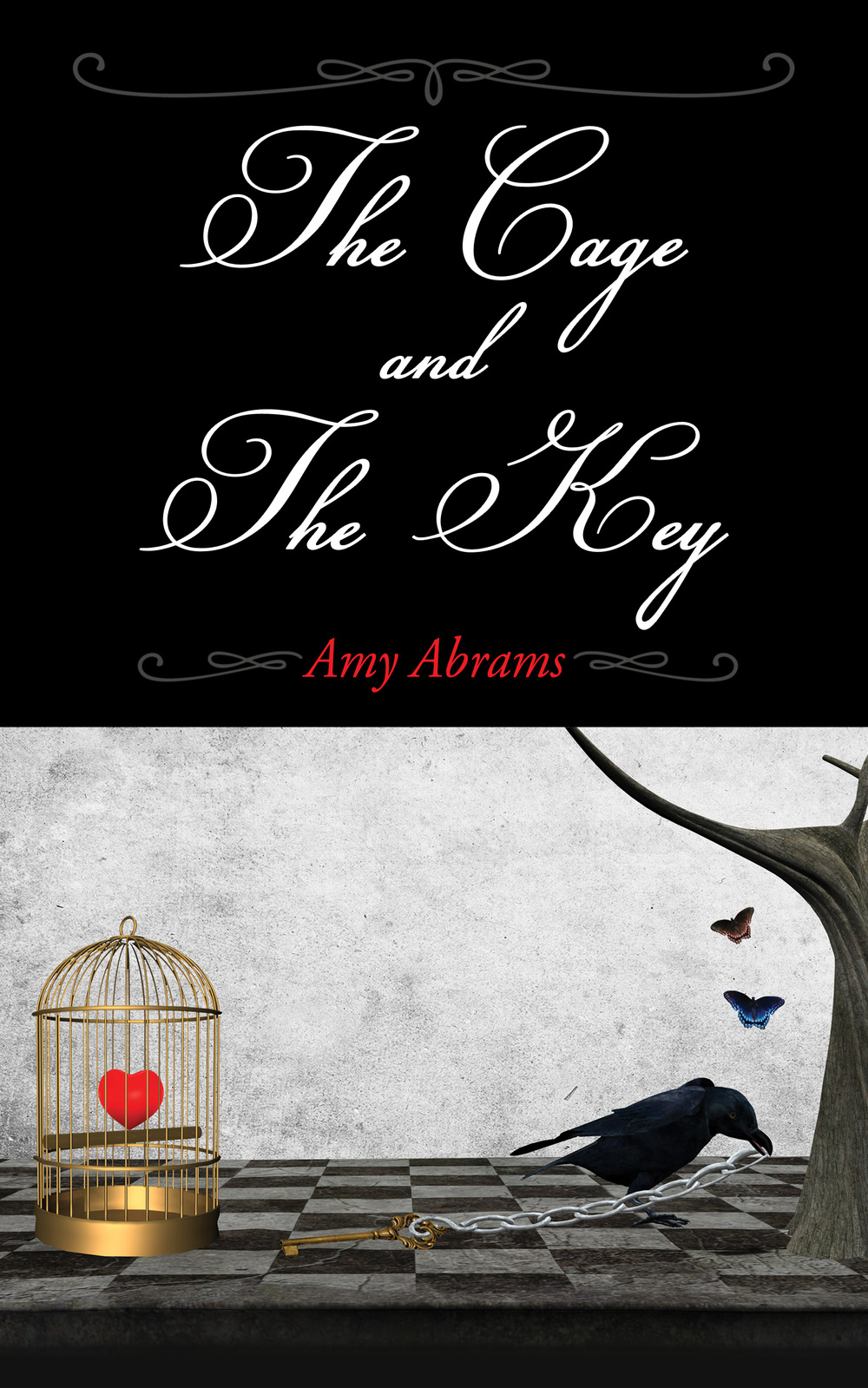 Book Cover The Cage and The Key by Amy Abrams.jpg