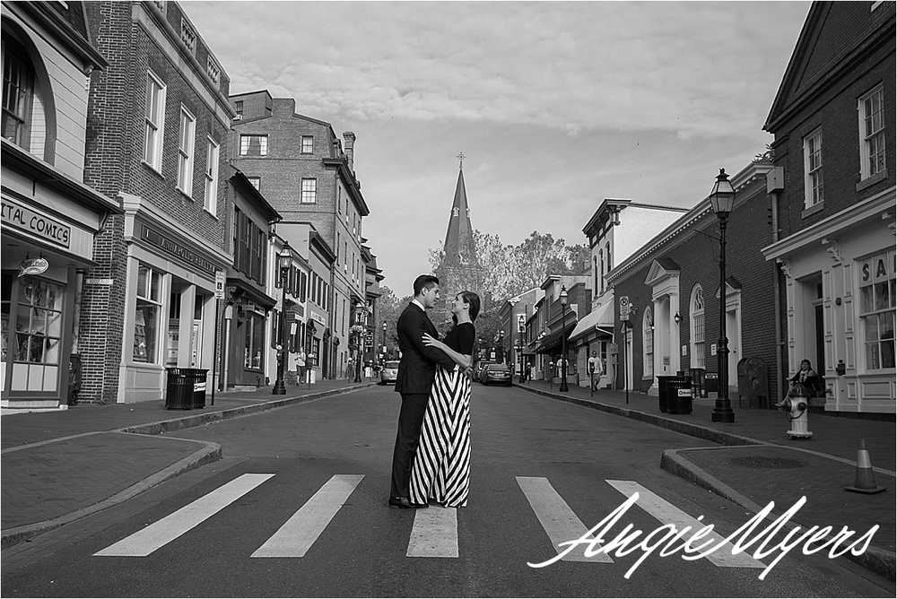Annapolis Engagement Shoot Brittany & Zack