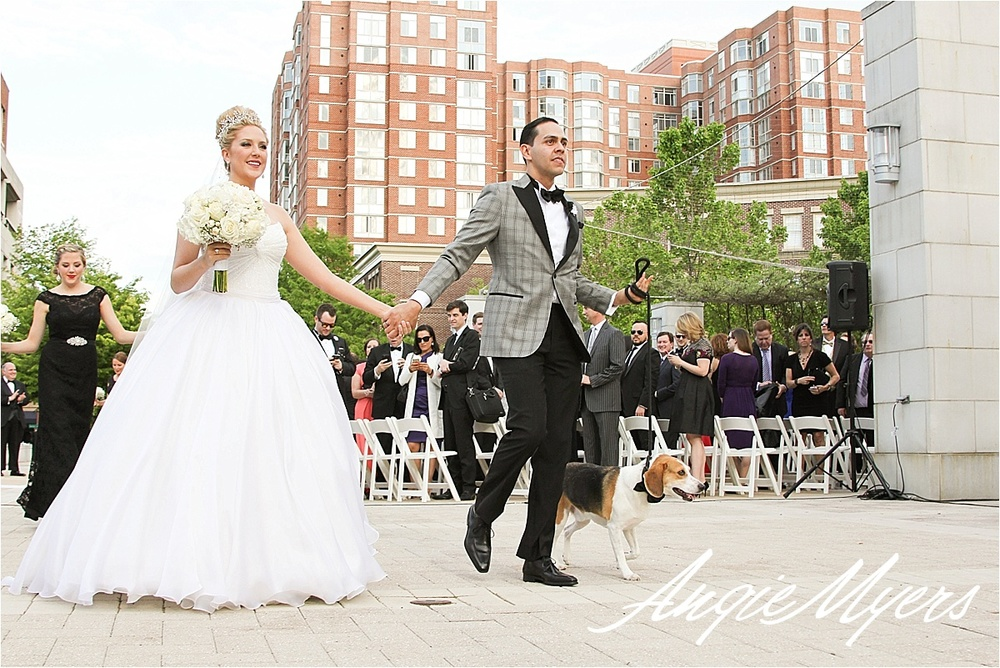 Old Town Alexandria Carlyle Club Wedding Jen  Corey & Joshua Baca