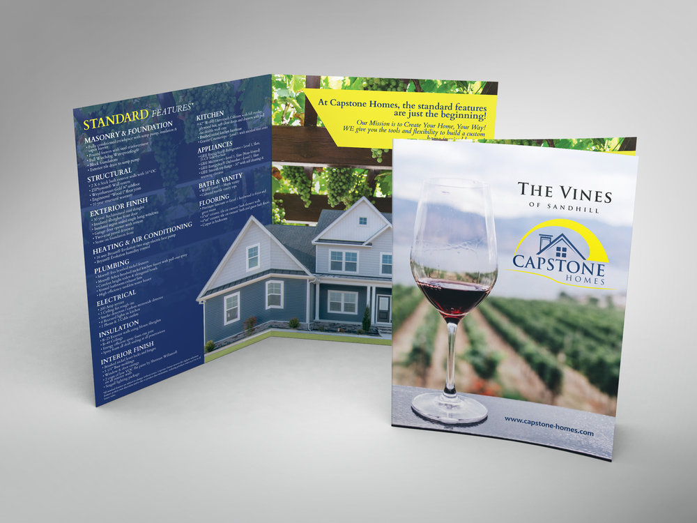 Builder Folded Brochure 11x17 Capstone Homes Delaware