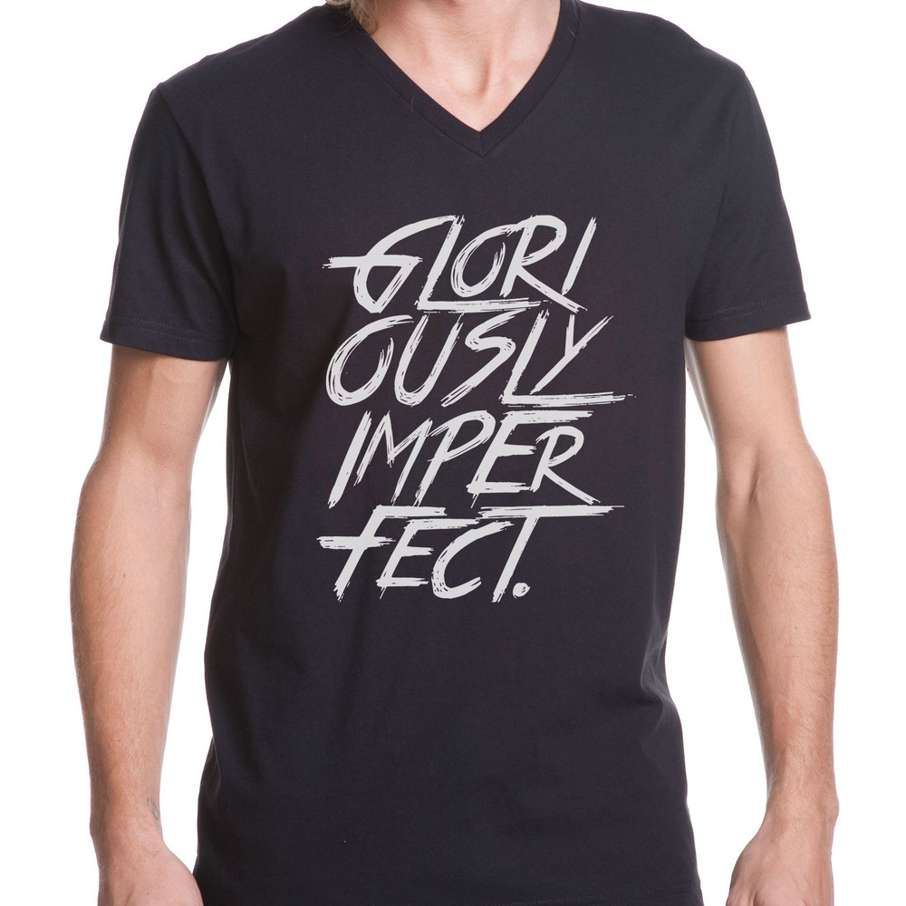 Gloriously Imperfect - Mens Vneck