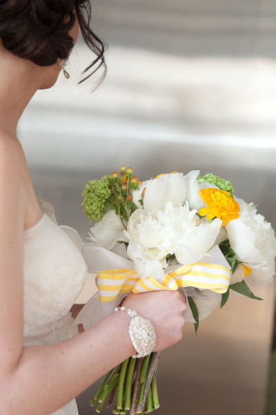 Marni in Custom Wedding Bracelet