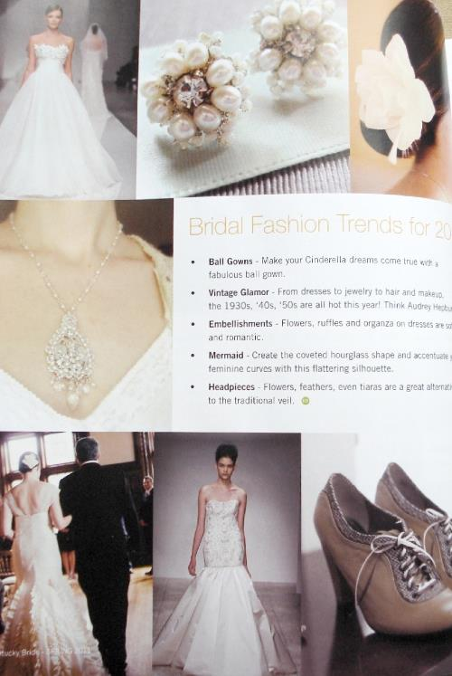 Kentucky Bride Magazine Spring 2011