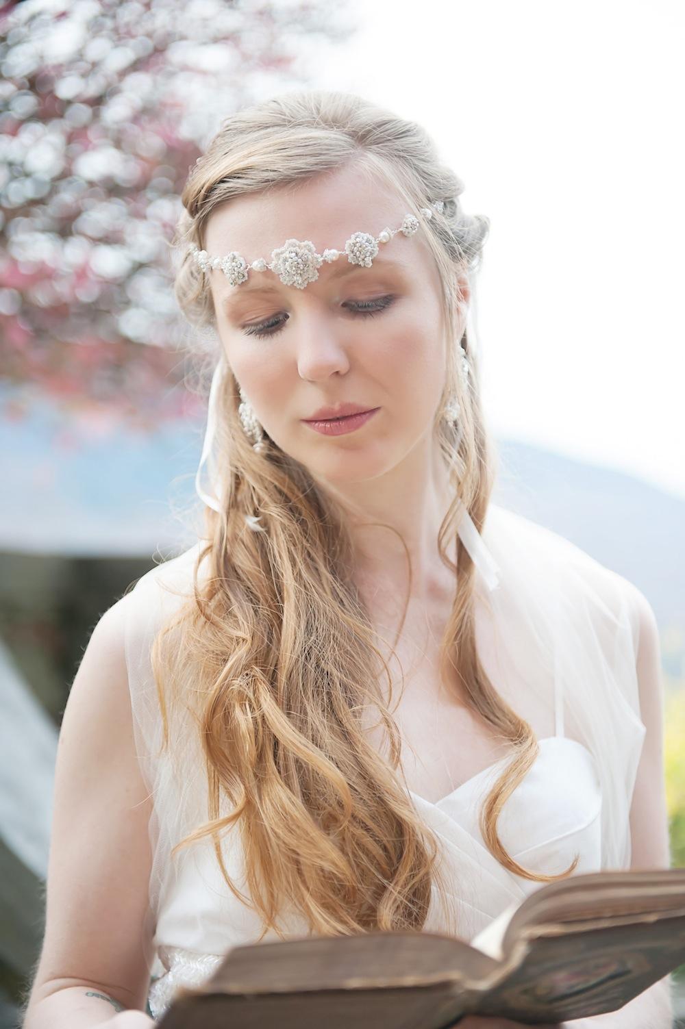 Cordelia Necklace/Halo and Cordelia Earrings