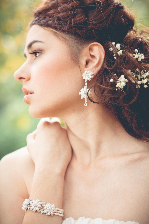 Artemisia Earrings + Bracelet