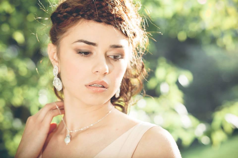 Nereid Earrings + Necklace