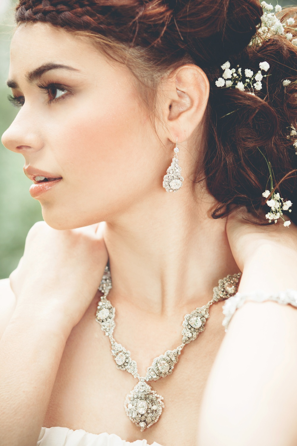 Acanthus Earrings + Necklace