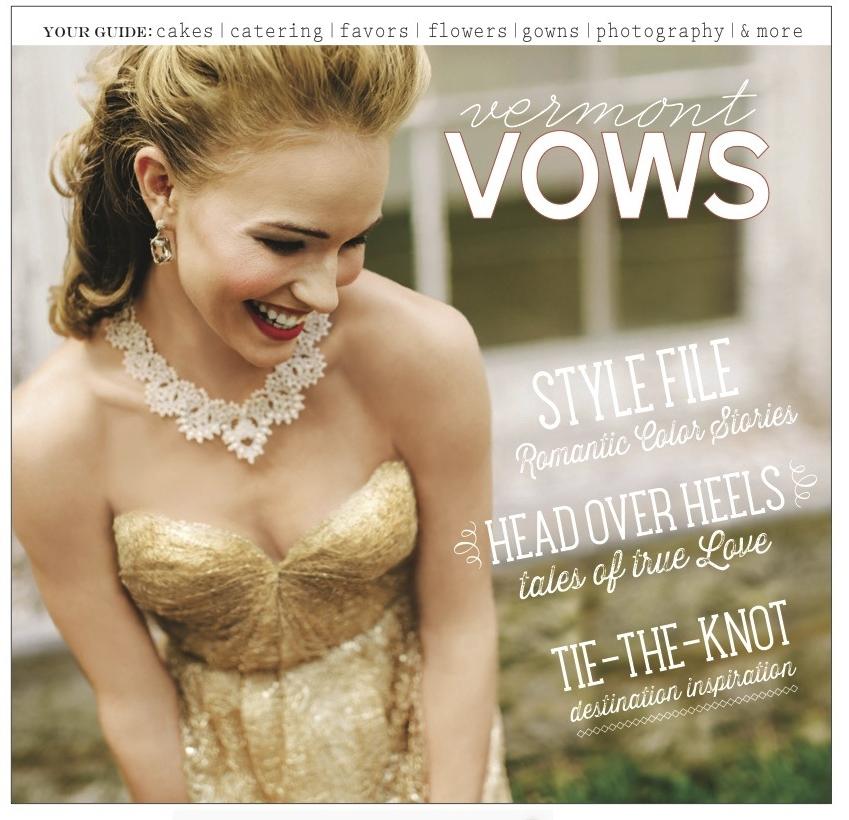 vermont vows magazine spring/summer 2014