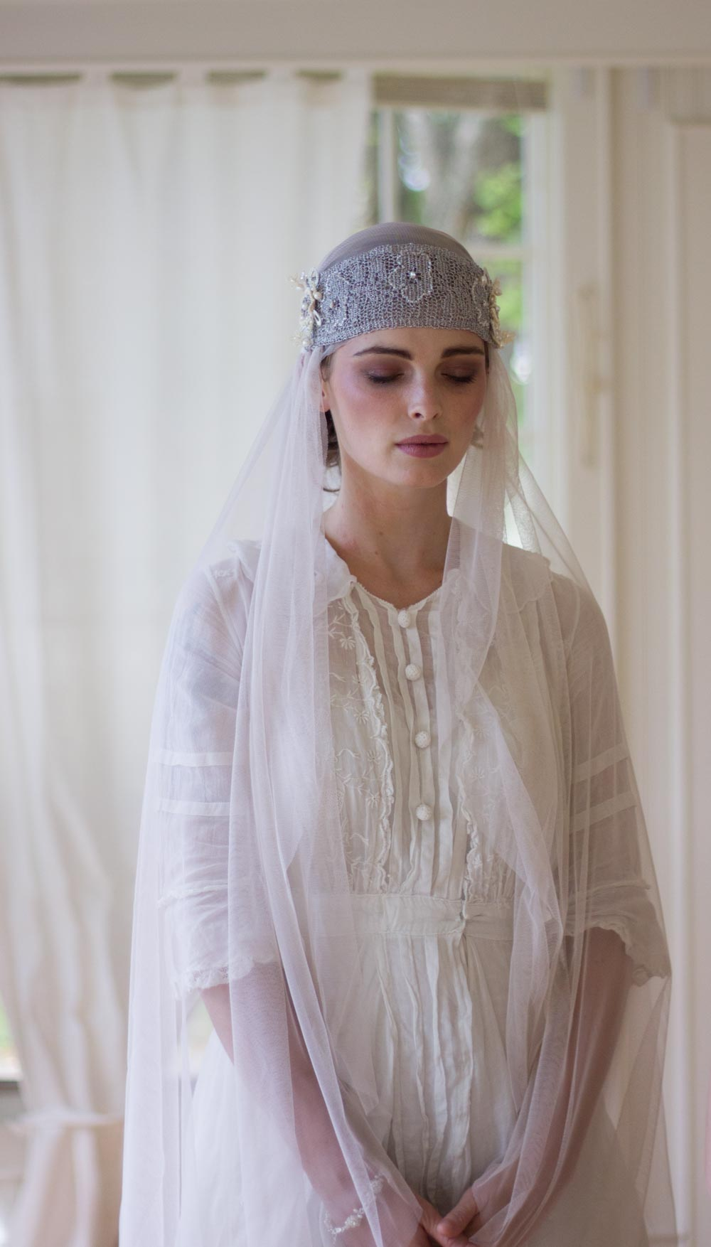 bridal-bandeau-headband-and-veil