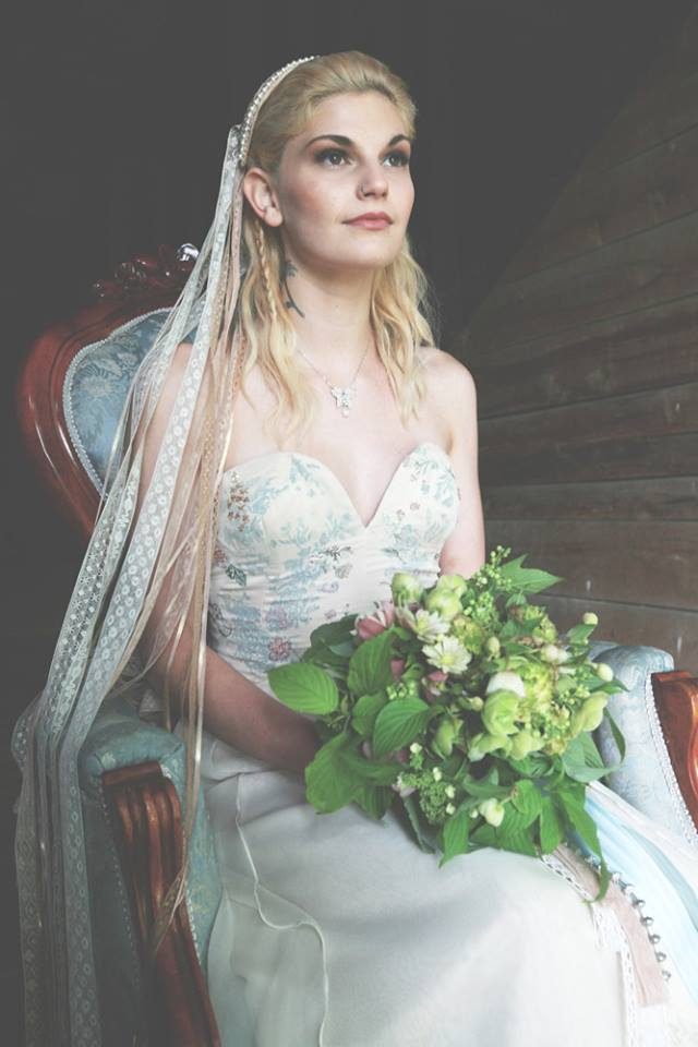 Alternative, Outdoor Wedding Inspiration | Vermont Bridal Jewelry