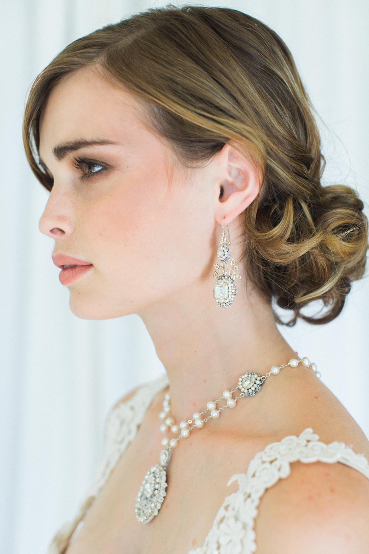 Victorine Earrings & Lilliane Necklace