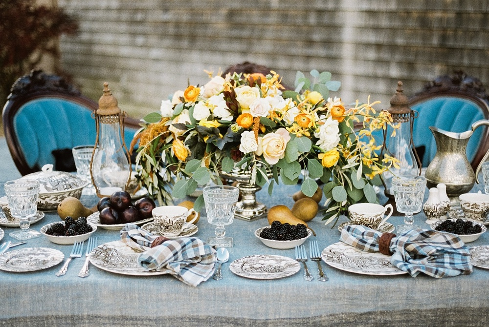 Autumn, Equestrian-Inspired Fine Art Wedding