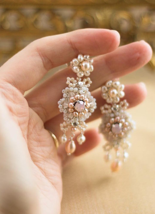 earrings gold peach pink s prom mariell with morganite rose p blush crystals