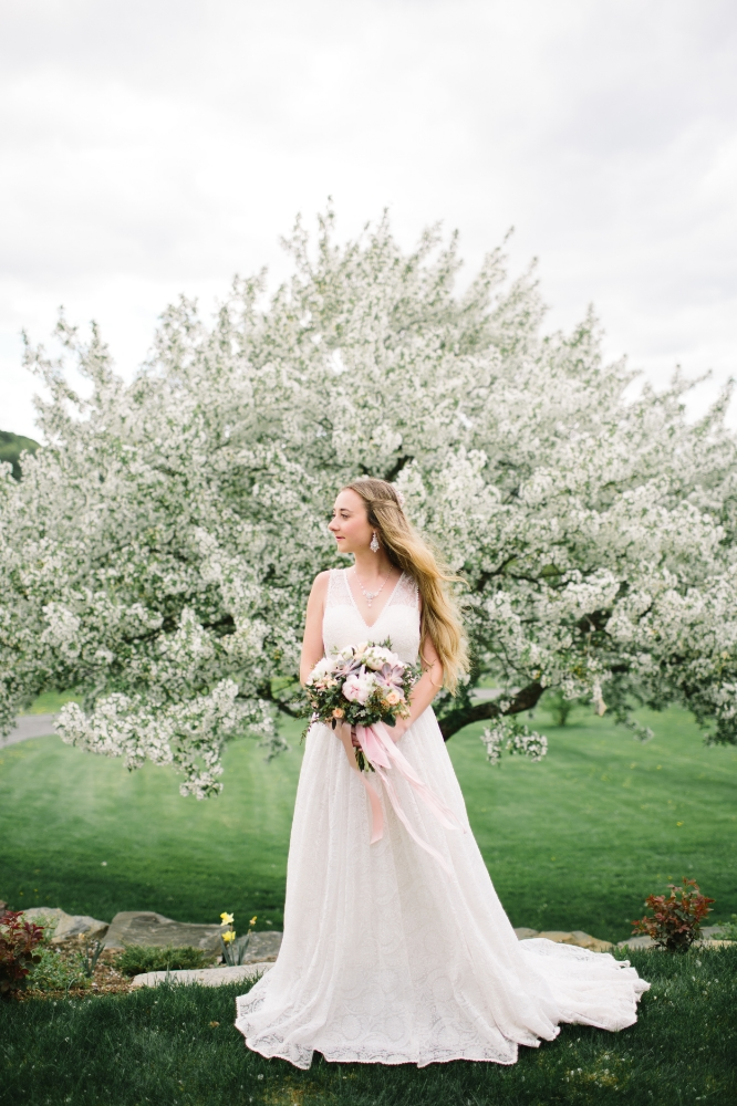 Vermont New England Wedding Jewelry Designer | Apple Blossom