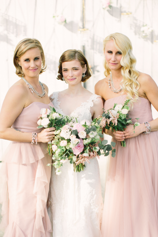 Pink, Vintage Inspired Bridal Jewelry | Edera Jewelry Blog