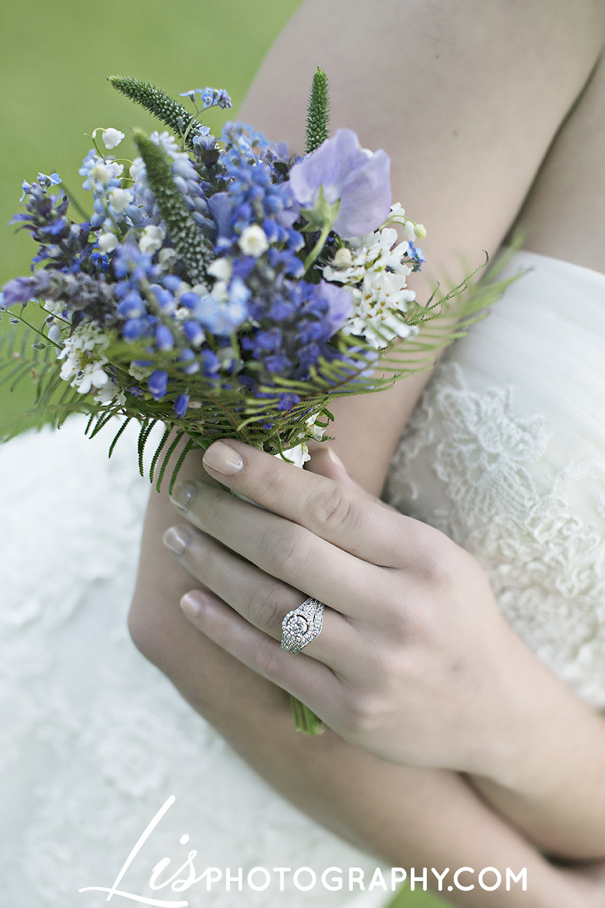 Blue, Purple, Lavender Vermont Spring Wedding Inspiration | Edera Jewelry Blog