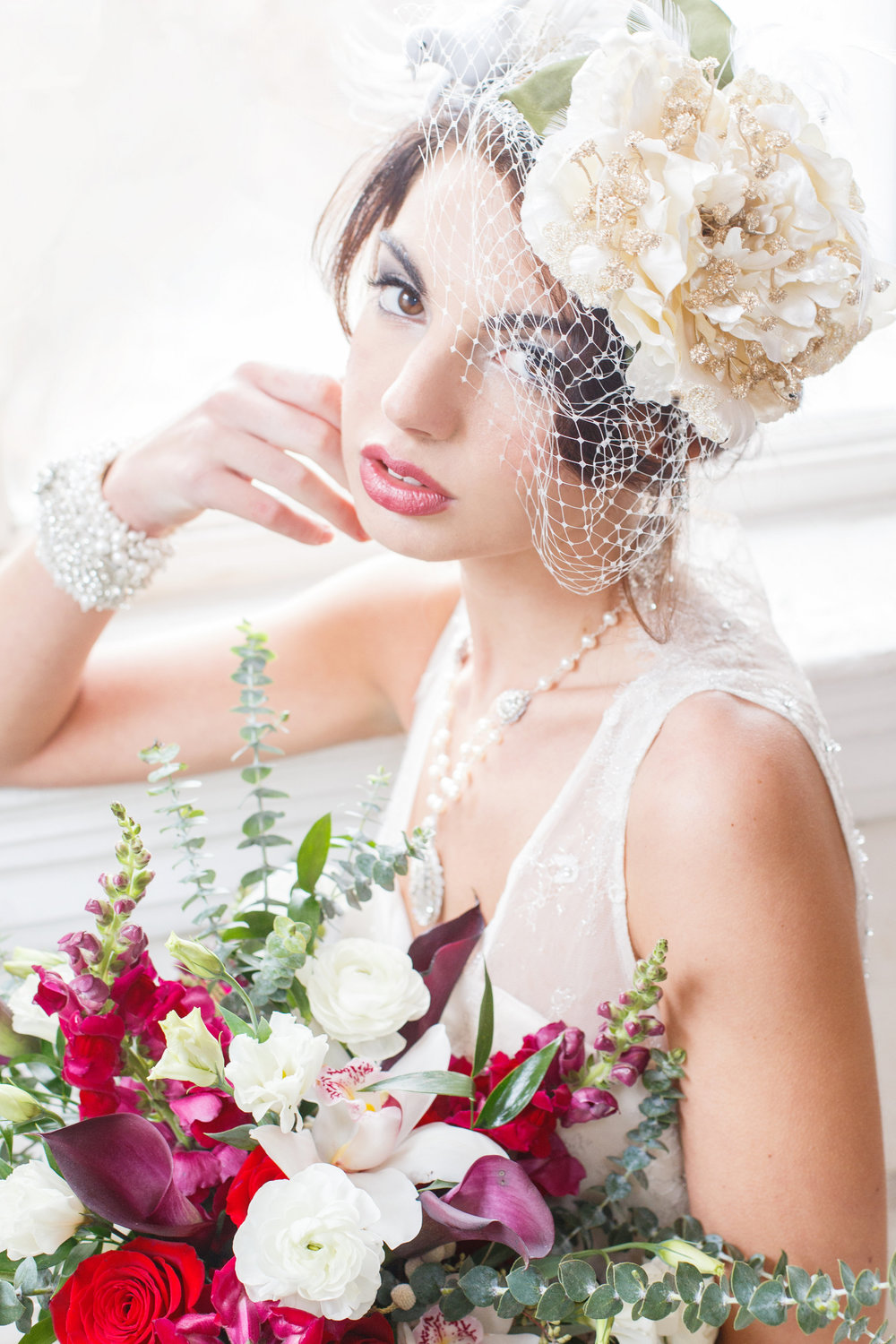 Vintage Russian Wedding Styled Shoot | Edera Jewelry Blog