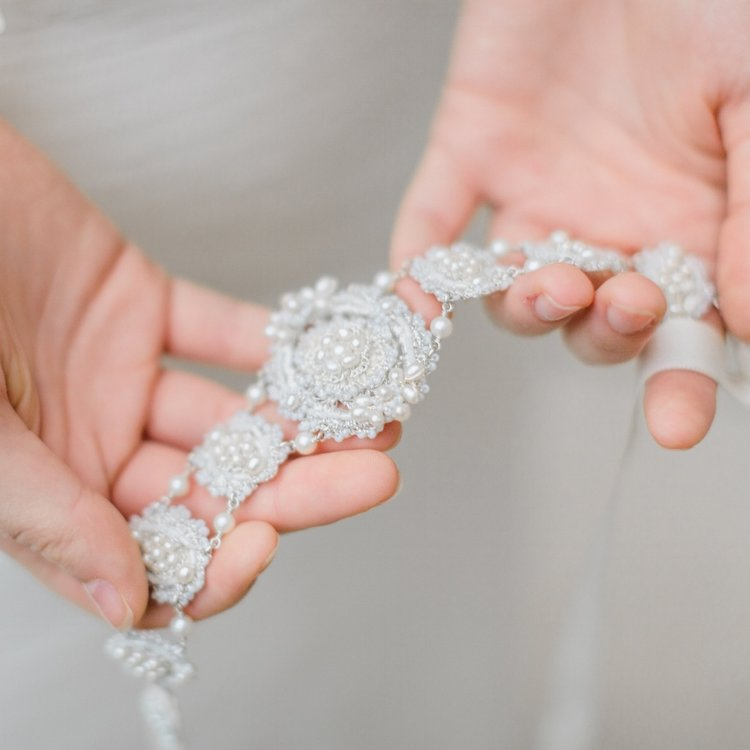 b6c733c1a3db Bridal Belts, Sashes, and Accessories | Wedding Barefoot Sandals ...