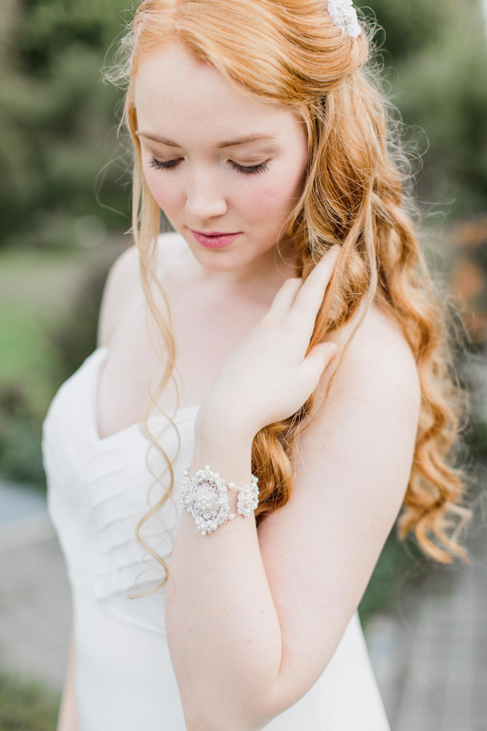 Bridal Bracelets | Wedding Cuffs | Handmade Wedding Jewelry