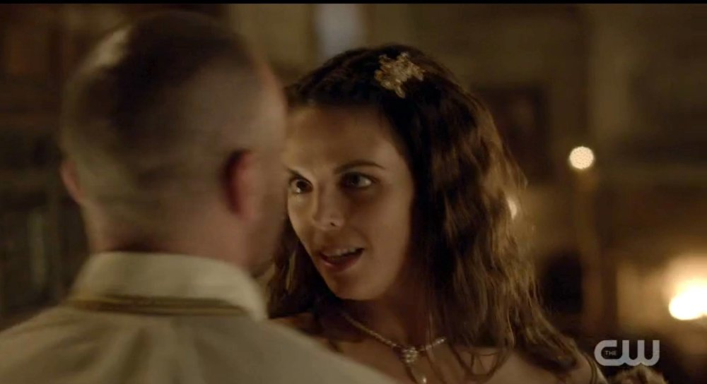 As Seen on Reign, Gold Lace and Pearl Hair Ornament