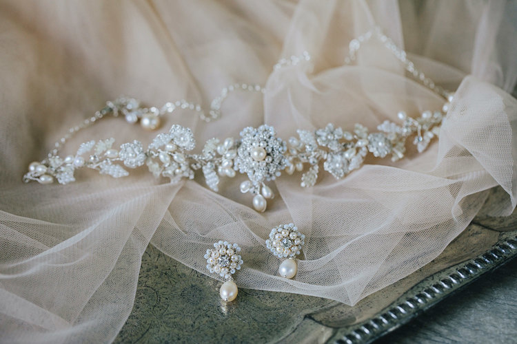 Lucca Earrings — Edera | Couture Lace Bridal Jewelry & Accessories