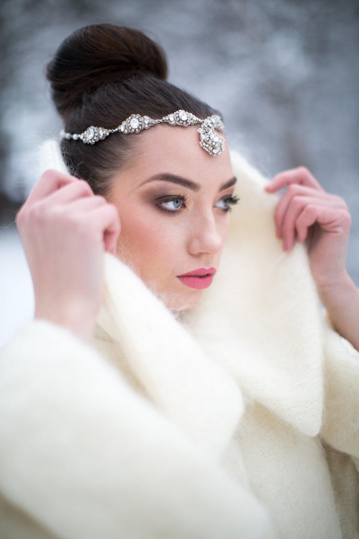 Edera Jewelry Blog | Fairy Tale Winter Wedding Accessories