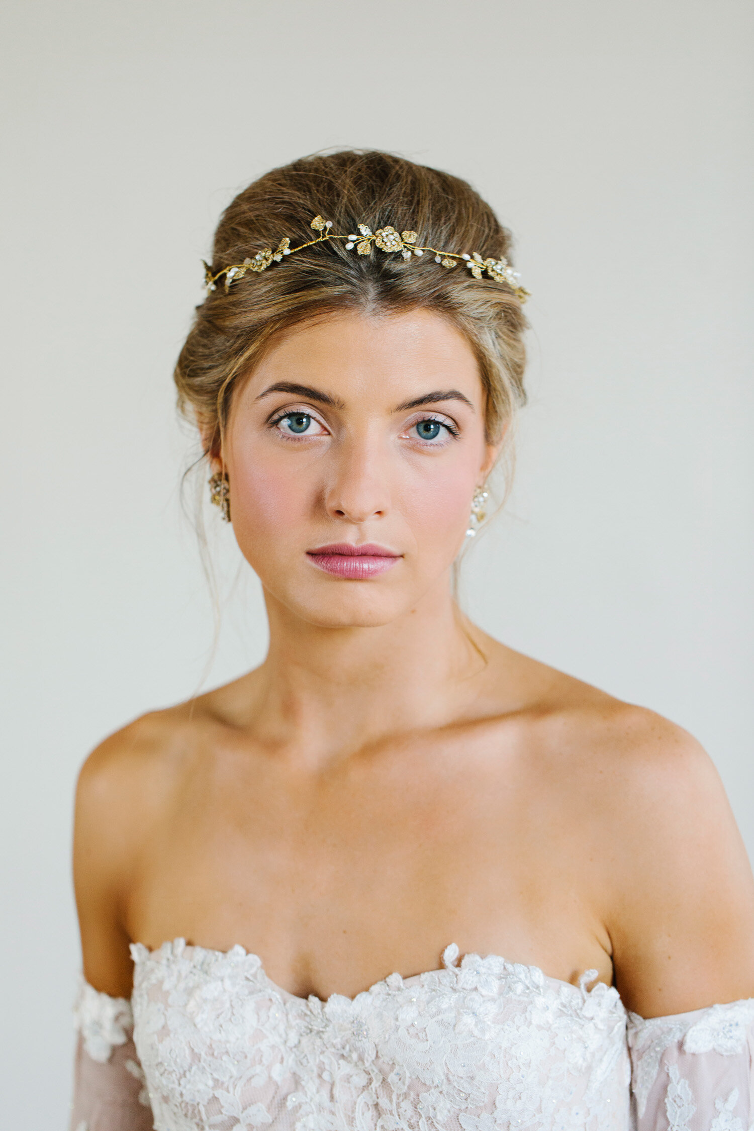 Gold Bridal Hair Vine Gold Wedding Hair Vine Bridal headpiece Gold Hair Vine Wedding Hair Piece Gold Wedding Headpiece