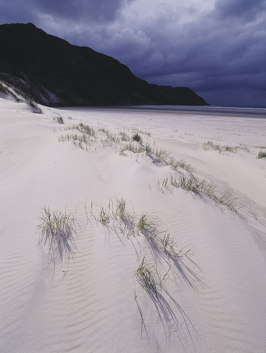 white sand beach, Ireland