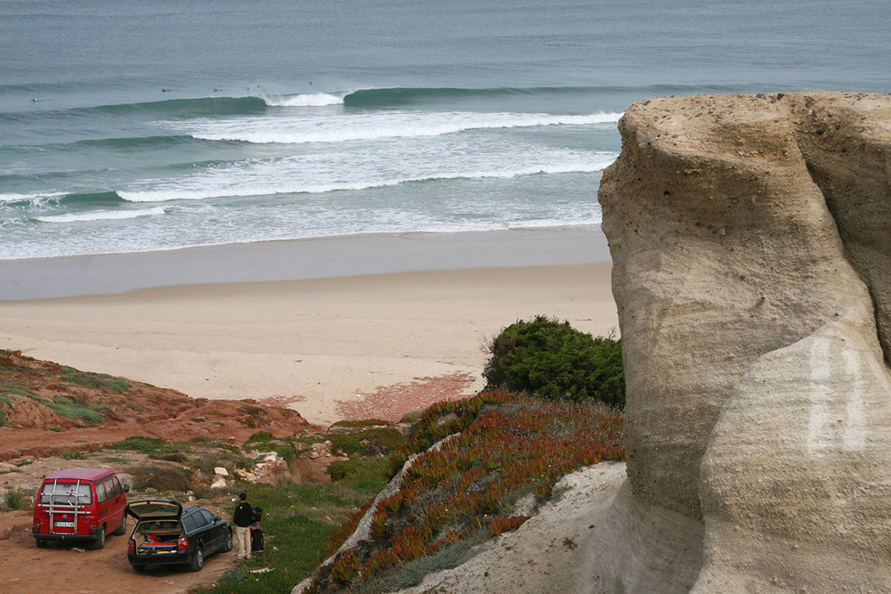 secret spot near Peniche, Portugal
