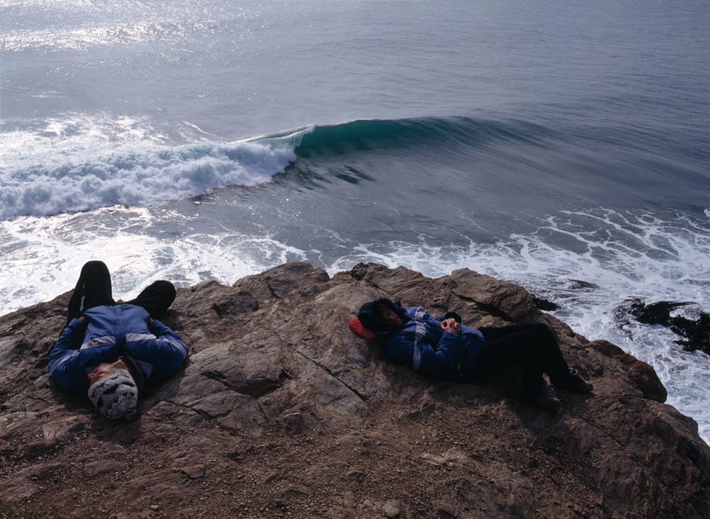 nap time, Punta de Lobos